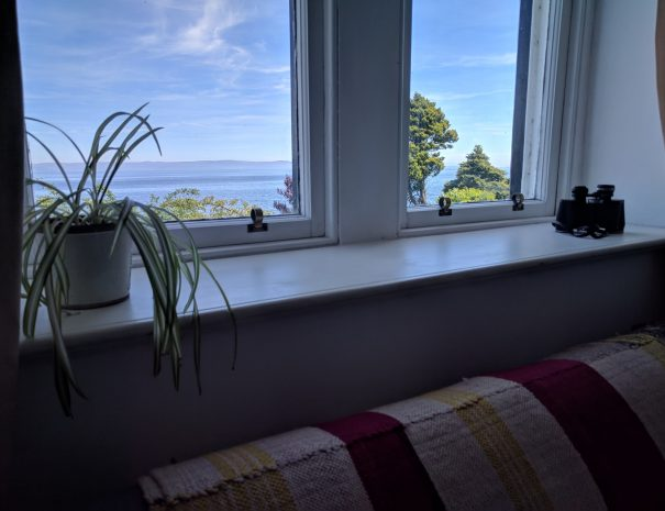room 1 view of sea