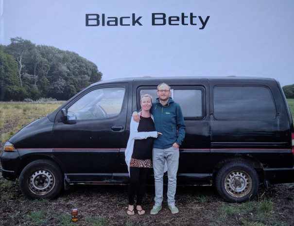 black betty campervan