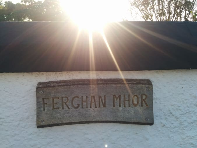 ferghan mhor house sign