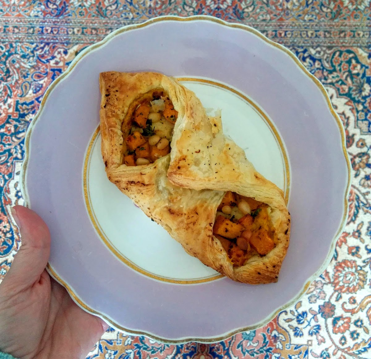 Butternut squash turnover from the French Fox