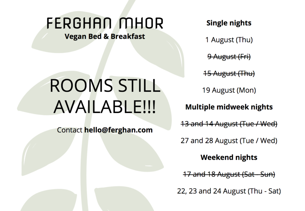 ferghan mhor availabi.ity in august